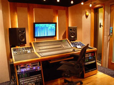 bedroom studio equipment home production studios blue collar builders