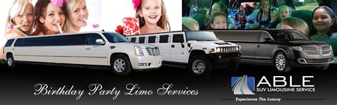 Birthday Limousine by Dallas Birthday Limo Services Birthday Limousines