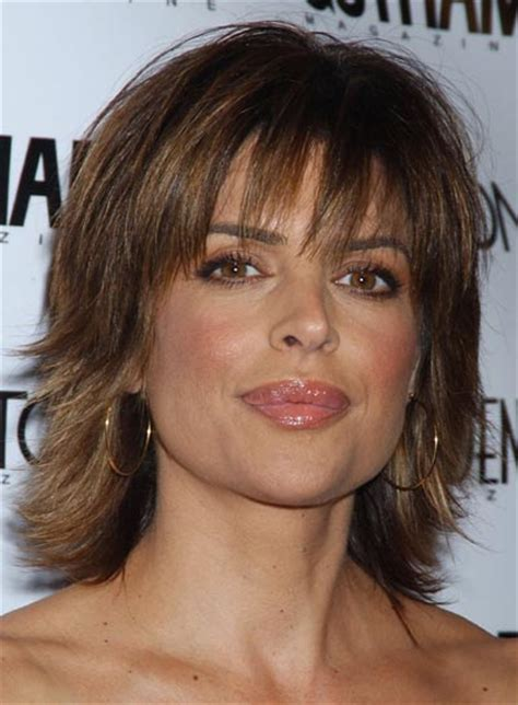 lisa rinna shaggy hairstyle lisa rinna beauty riot