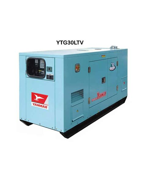Genset Silent Yanmar Ytg 30 Tlv jual yanmar ytg30tlv mesin generator silent harga