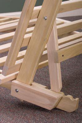 trifold futon frame diy futon bed futon bed frames