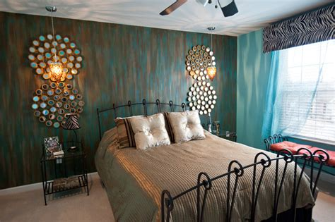 Blue Master Bedroom Decorating Ideas dazzle the glamour contemporary bedroom other metro