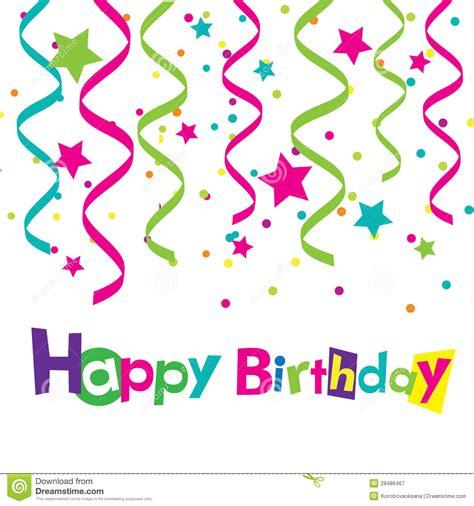 imagenes de feliz cumpleaños amiga vintage vector happy birthday card stock vector illustration of