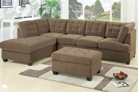 suede sectional sofa poga sectional sofa waffle suede