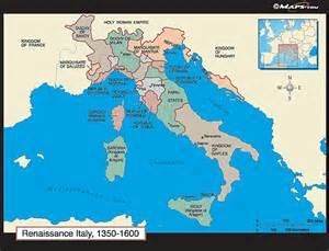 Map Of Renaissance Italy by Gallery For Gt Italian Renaissance Map