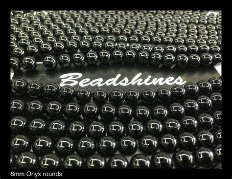 bead store los angeles black onyx rounds 8mm 183 beadshines 183 store powered