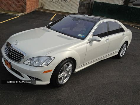 Mercedes S550 2007 by 2007 Mercedes S550 Designo Edition