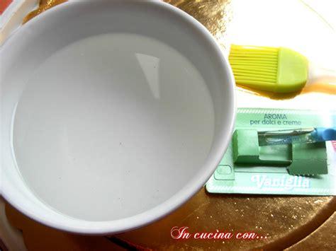 bagna per torte alla vaniglia bagna alla vaniglia analcolica ricetta veloce in cucina