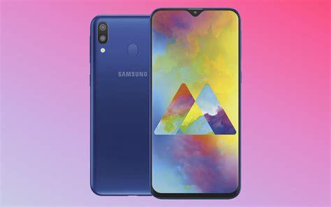 Samsung M20 Galaxy M10 Et M20 Les Premiers Smartphones 224 Encoche De Samsung Sont Officiels Voici Leurs