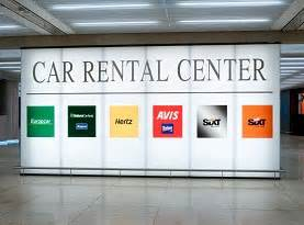 Car Rental Airport Road Car Rental Los Angeles Airport California Lax Usa