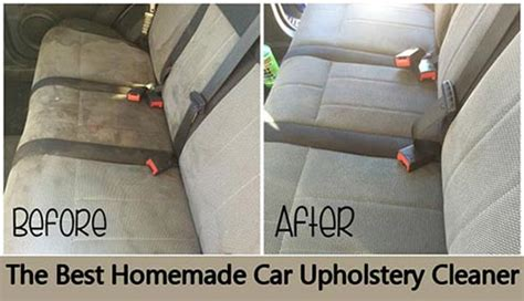 Car Upholstery Cleaner Diy by 20 Ways To Make Your Car Cleaner Than It S Been Home And Gardening Ideas