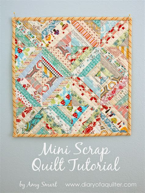 quilt tutorial videos gorgeous mini scrap quilt tutorial