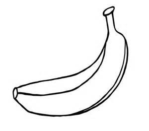 banana coloring page banana free coloring pages