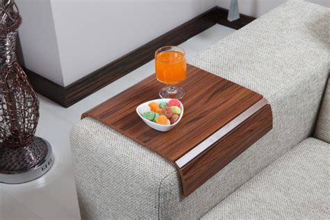 armrest for couch sofa tray table canadian walnut sofa arm tray armrest