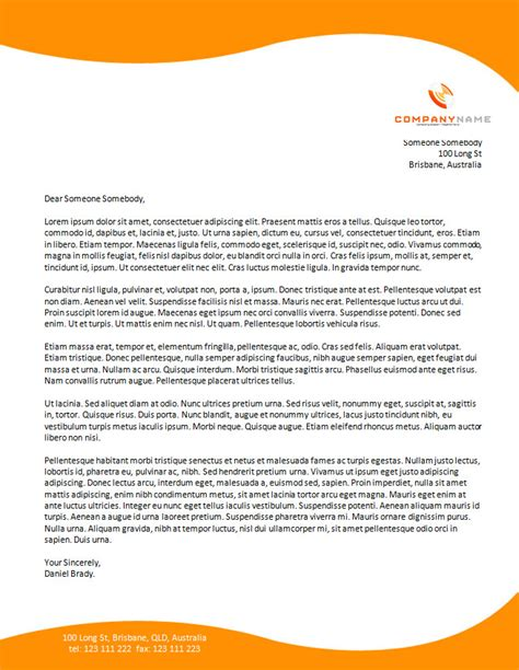 Cover Letter Torrent by Letterhead Design Free Cover Letter