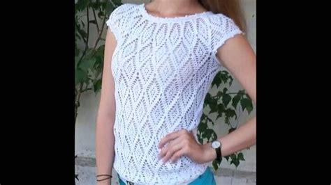 blusa crochet zigzag paso paso blusas juveniles para el verano a crochet viyoutube
