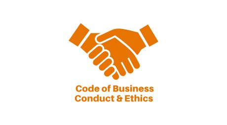 code of conduct exle corporate governance hcp inc
