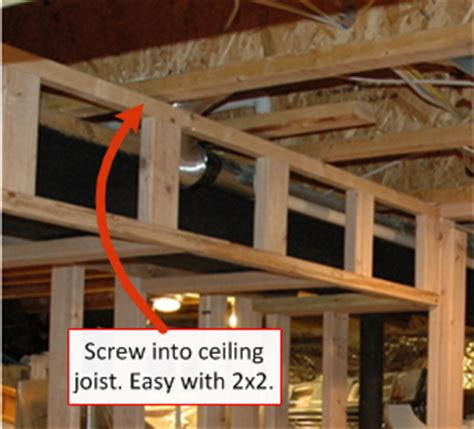 how to frame around ductwork in a basement framing around ductwork when finishing your basement