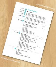 indesign template free free indesign templates simple and clean resume cv with