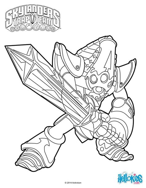 skylander birthday coloring page krypt king coloring page cole s 6th birthday pinterest