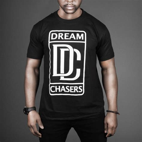 dream chasers records logo t shirt wehustle menswear womenswear hats mixtapes amp more