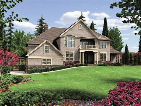 residence design plan hillside home design 6980am architectural designs house plans