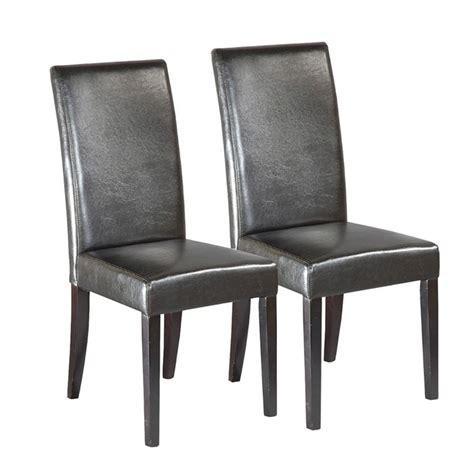 chaises simili cuir chaise simili cuir