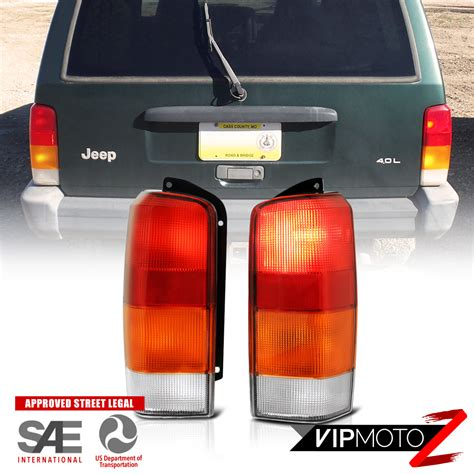 2001 jeep grand brake light 1997 2001 jeep xj quot left right quot factory style rear