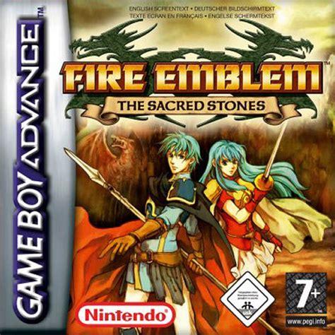 emuparadise roms gba fire emblem the sacred stones e rising sun rom
