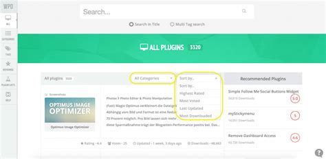 wordpress top bar plugin using wp plugin directory to find the best free wordpress