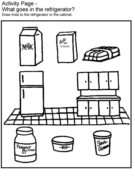Food Safety Coloring Pages activities fight bac