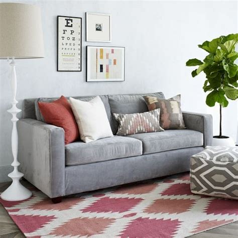 henry couch west elm henry sofa west elm livingroom pinterest simple