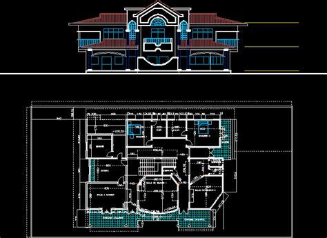 villa layout dwg engineering et architecture octobre 2013