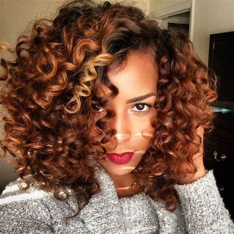 dyed curly hairstyles 25 colored natural hair styles dyed natural hair photo