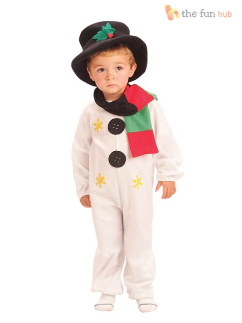 Nino S Dress child snowman costume age 2 8 fancy dress