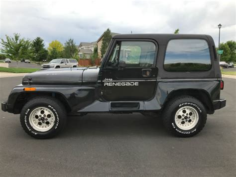 classic jeep renegade 1991 jeep wrangler renegade package classic jeep