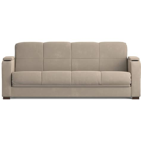 Sofa Sleeper With Storage Mainstays Microfiber Storage Arm Futon Sofa Sleeper Colors Ebay