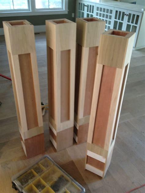 newel posts bob kathys house build