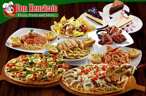 don henricos pizza  pasta promo   branches