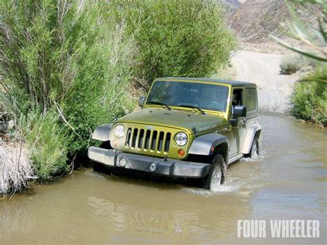 Jeep Tj Water 2007 Jeep Wrangler Rubicon Review Four Wheeler Magazine