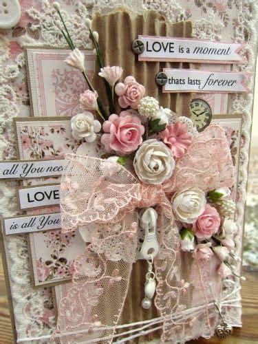 handmade shabby chic wedding cards best 20 shabby chic cards ideas on