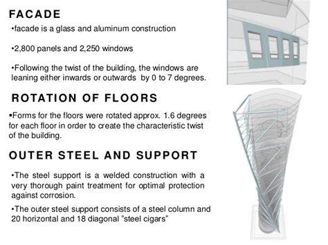 Turning Torso Floor Plan by Santiago Calatrava