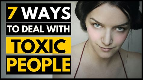7 Ways To Deal With Snobby by 7 Ways To Deal With Toxic In Your