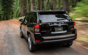 2014 Jeep Compass Mpg 2014 Jeep Compass Limited Rear Three Quarters In Motion
