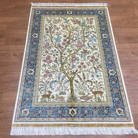 silk rugs ebay ivory tree of silk rug turkish handmade carpet rug pair for less ebay