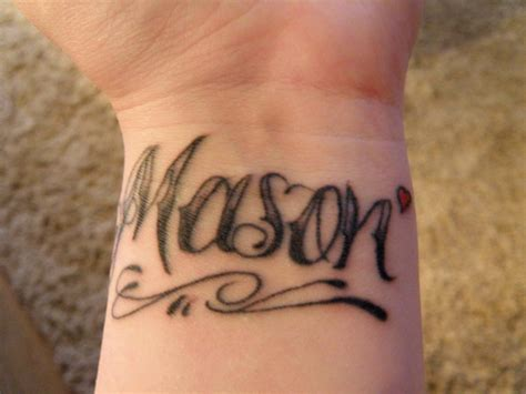 wrist writing tattoo lettering awesome lettering tattoos designs fonts