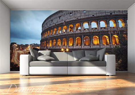 photo wall murals uk the coliseum in a colour architecture wallpaper