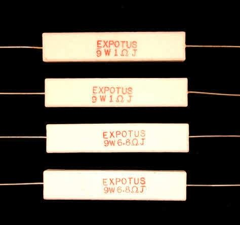 wire wound resistor diy ceramic wire wound resistors for loudspeaker crossovers and networks 9 watt from falcon