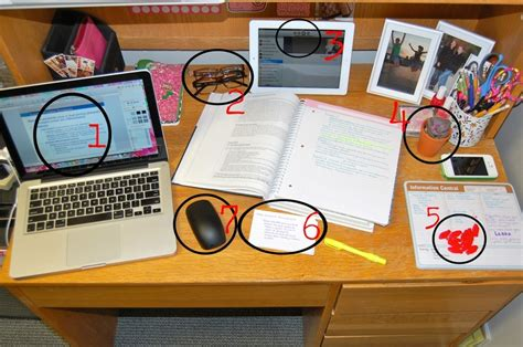 Organized Desk One S Advice On How To Keep An Organized Desk In Your Room While Studying