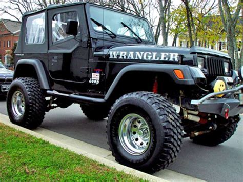 how cars run 1995 jeep wrangler interior lighting what are the largest tires you can fit on a stock jeep wrangler